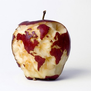 food-apple-globe-by-Kevin-Van-Aelst-Apple-Globe