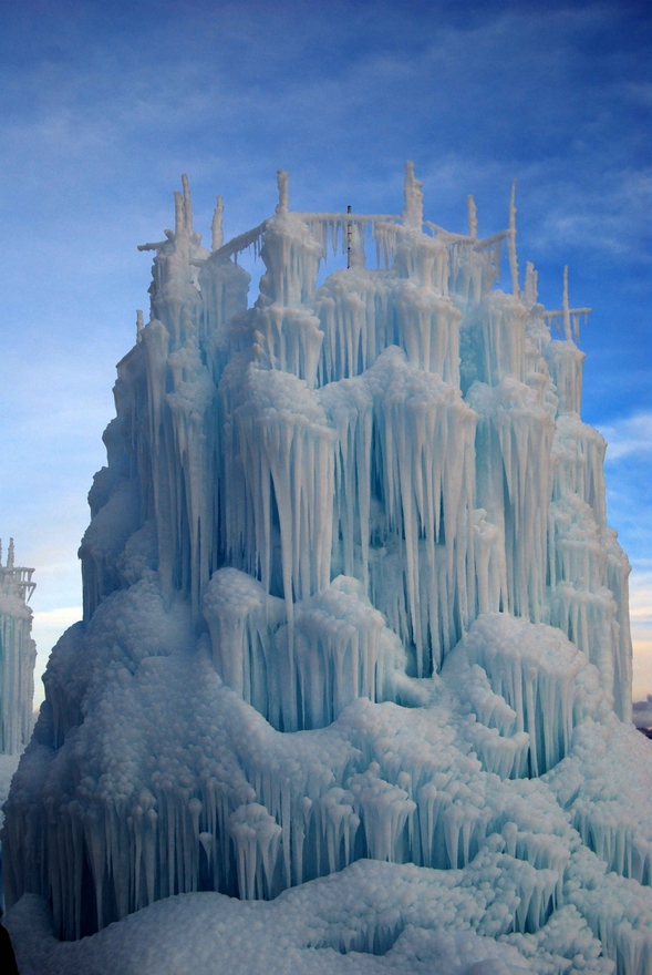 Water Art Structures : Snow and ice dusky s wonders