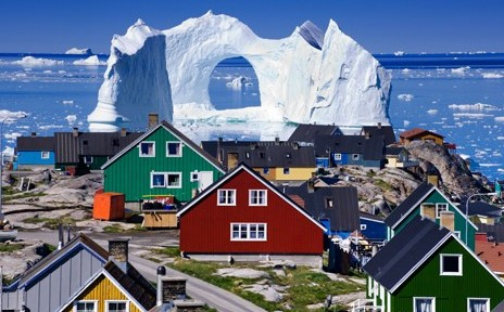 exqui image, vaca, Floating Iceberg, Greenland