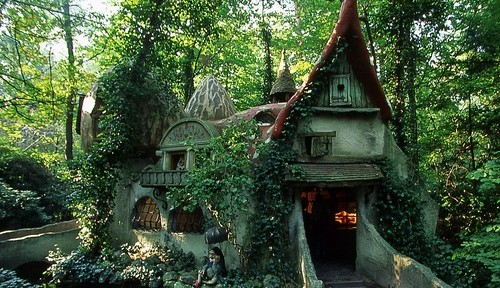 exqui image, house, Forest House, Efteling, Holland
