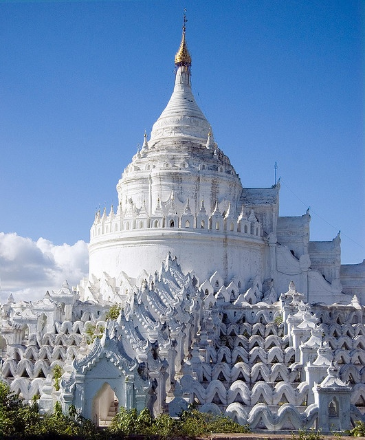 Hsinbyume Pagoda - Mingun, Burma