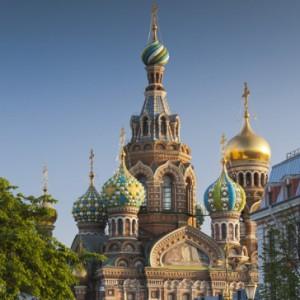 Church of Spilt Blood, St. Petersburg, Russia, By Walter Bibihow