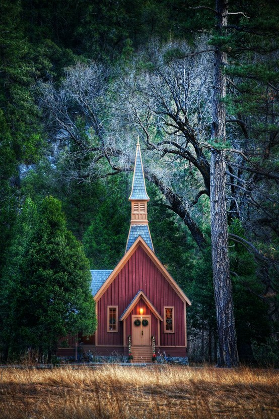 Church in Yosemite, CA