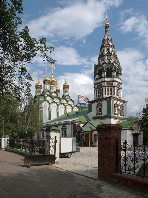 Church of Saint Nicholas in Khamovniki, Russia