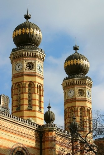Great  towers, Budapest