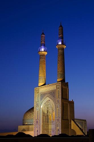 Jameh Mosque, Yazd, Iran