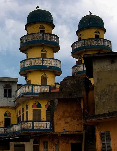 s.s., Mosquée in Porto-Novo - Benin