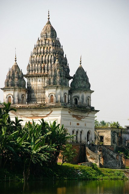 Shiva Temple, Puthia, Bangladesh