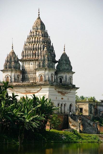 Shiva Temple, Puthia, Bangladesh