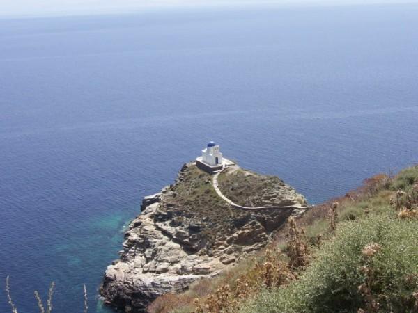 Church on Sifnos Island, Greece.