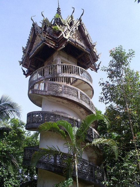 The architecture of spiritual spaces dusky 39 s wonders for Thailand architecture