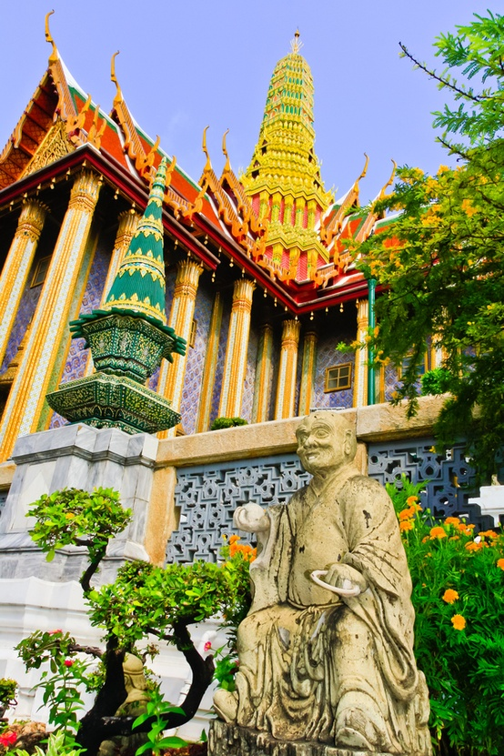 Temple of the Emerald Buddha - Bangkok - Thailand