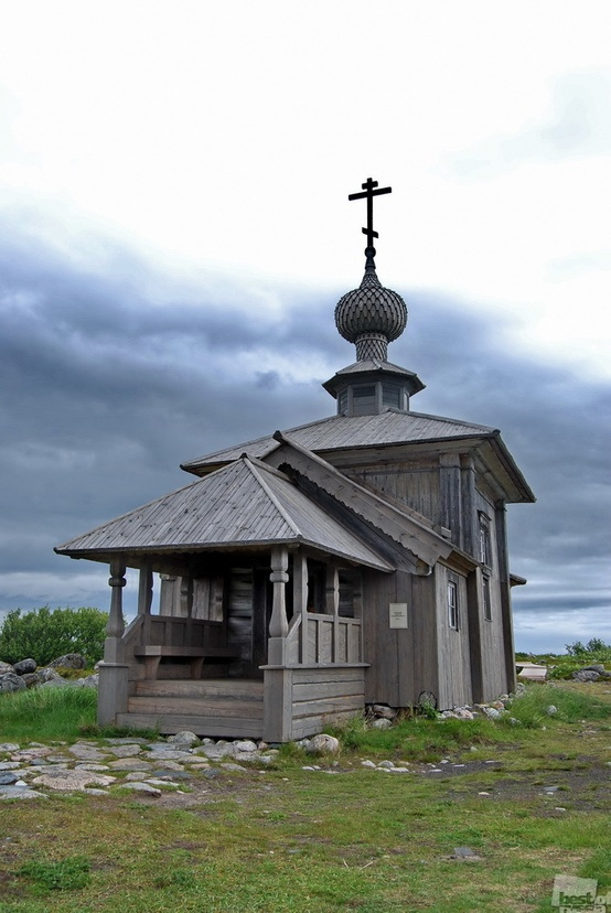 The Church of St. Andrew in Grand Zayatsky, Russia