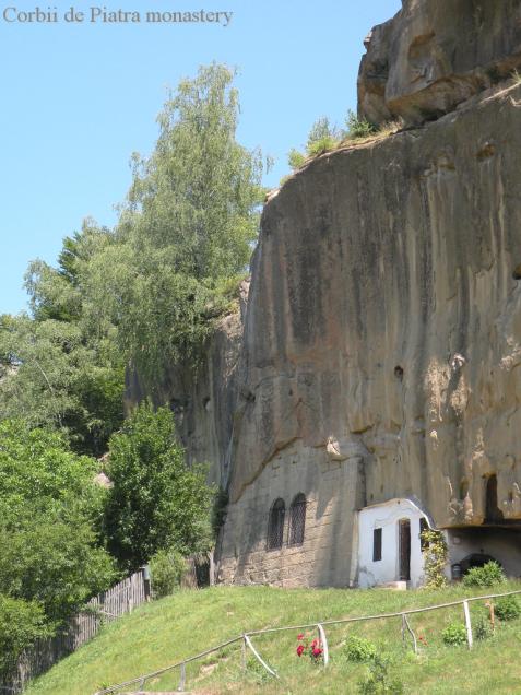 medieval monastery- romania