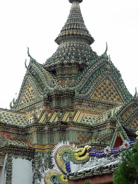 Temples of Wat Arun in Bangkok, Thailand