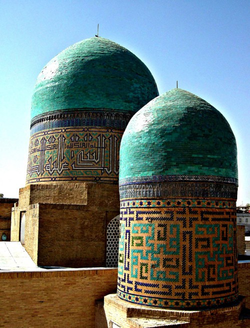 Congregational mosque, Bukhara, Uzbekistan.