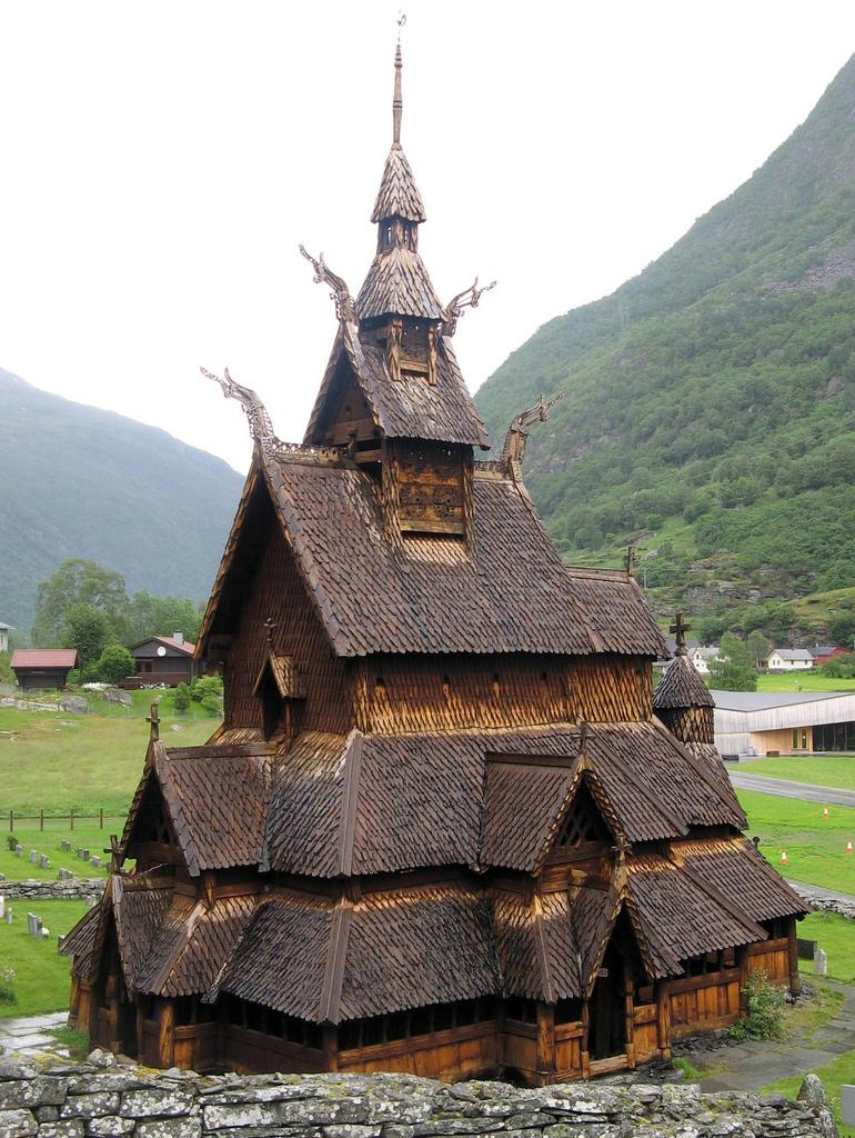 Bogrund Stave Church  Norway
