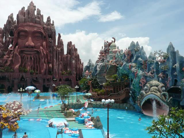 New and First ever Buddhist amusement park, Vietnam