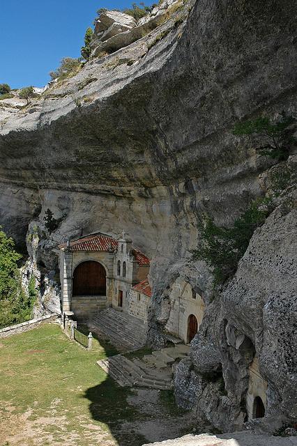 San Bernabe Monastery, Ojo Guareña, Spain (by Javi Diez Porras).