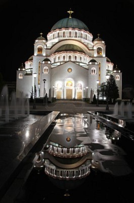 St.Sava Orthodox Cathedral in Belgrade, Serbia