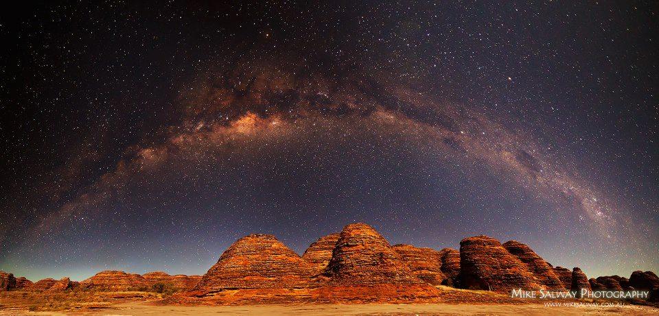 Древние арки - Milkyway Панорама Майк Salway