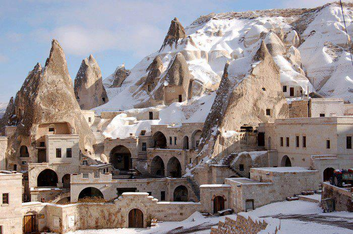 Fairy Chimney Hotel in Göreme, Turkey