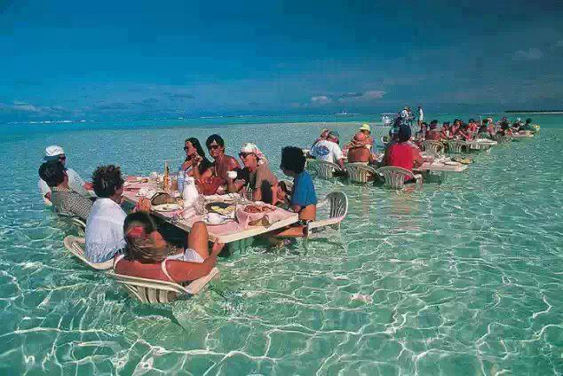 Sea Restaurant, Bora Bora