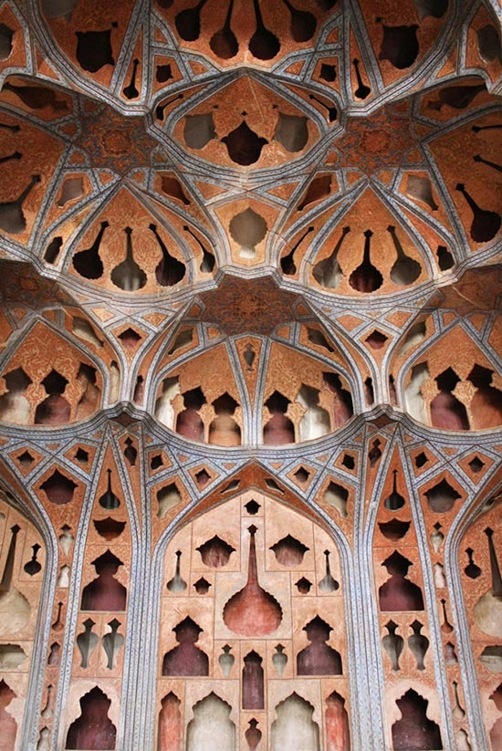 Ali Qapu - Music room - Isfahan - Iran