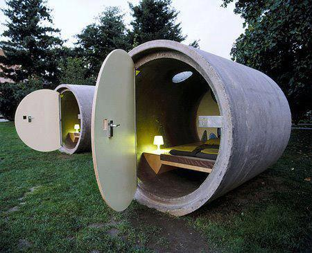 Drain Pipe Hotel in Austria