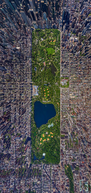 New York City from way above.