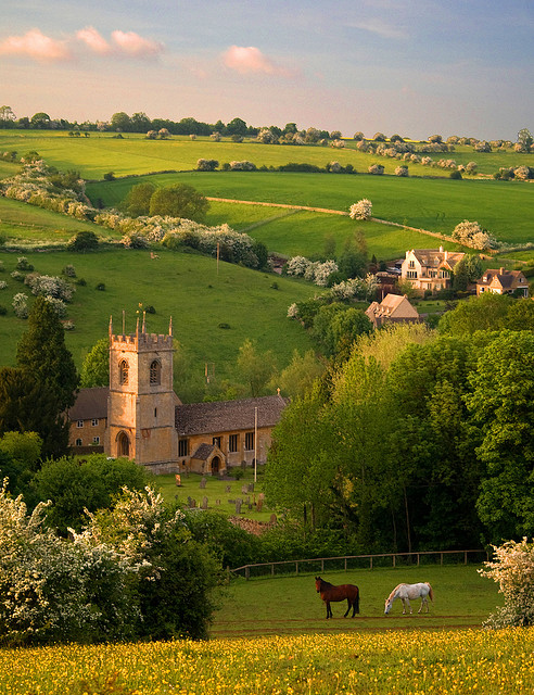 Naunton, Gloucestershire, England