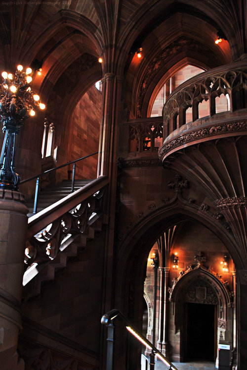 The John Rylands University Library,  Manchester, England via blue pueblo at tumblr