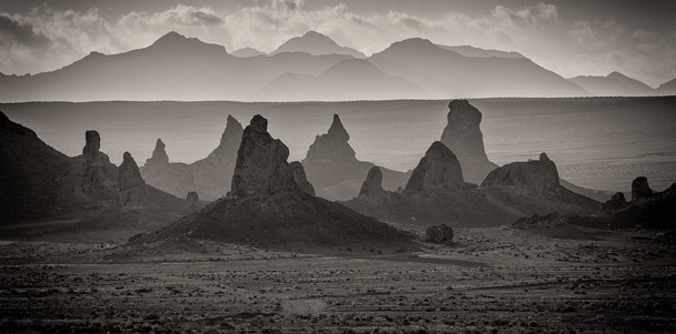 Trona Pinnacles, CA by Bill Sharpsteen via National Geographic