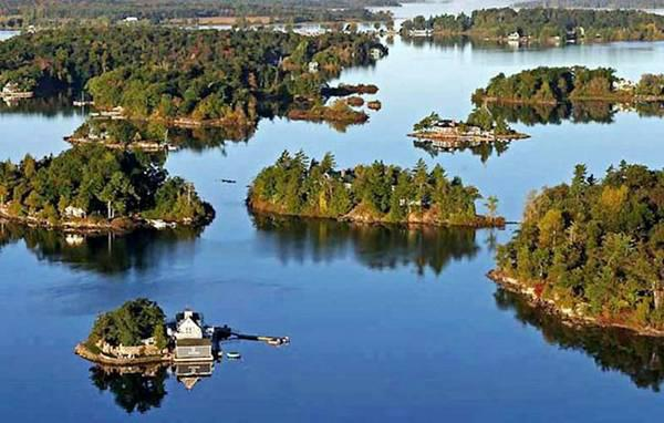 An Archipelago of Islands - Thousand Islands in Canada