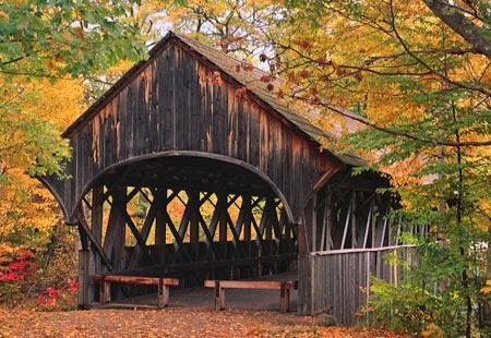 Artist's Bridge, Maine. 1872.