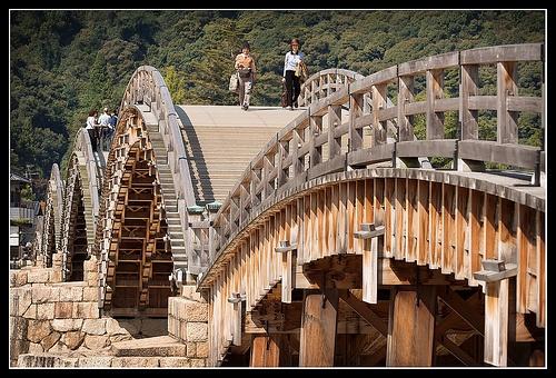 Kintai-kyo bridge, Iwakuni, Yamaguchi Prefecture, Japan