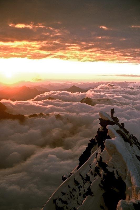 Summit of the Gross Glockner, Austria