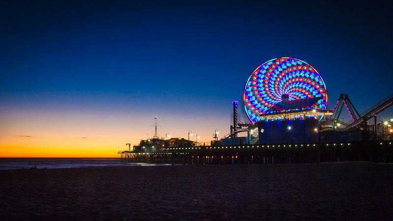 Santa Monica by Asim Bharwani