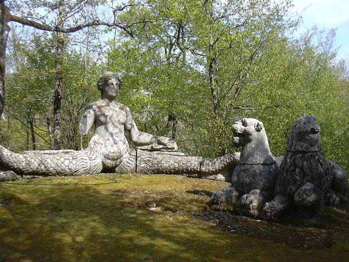 human ingen, Parco di Bomarzo, 2
