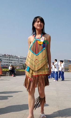 Chopstick dress