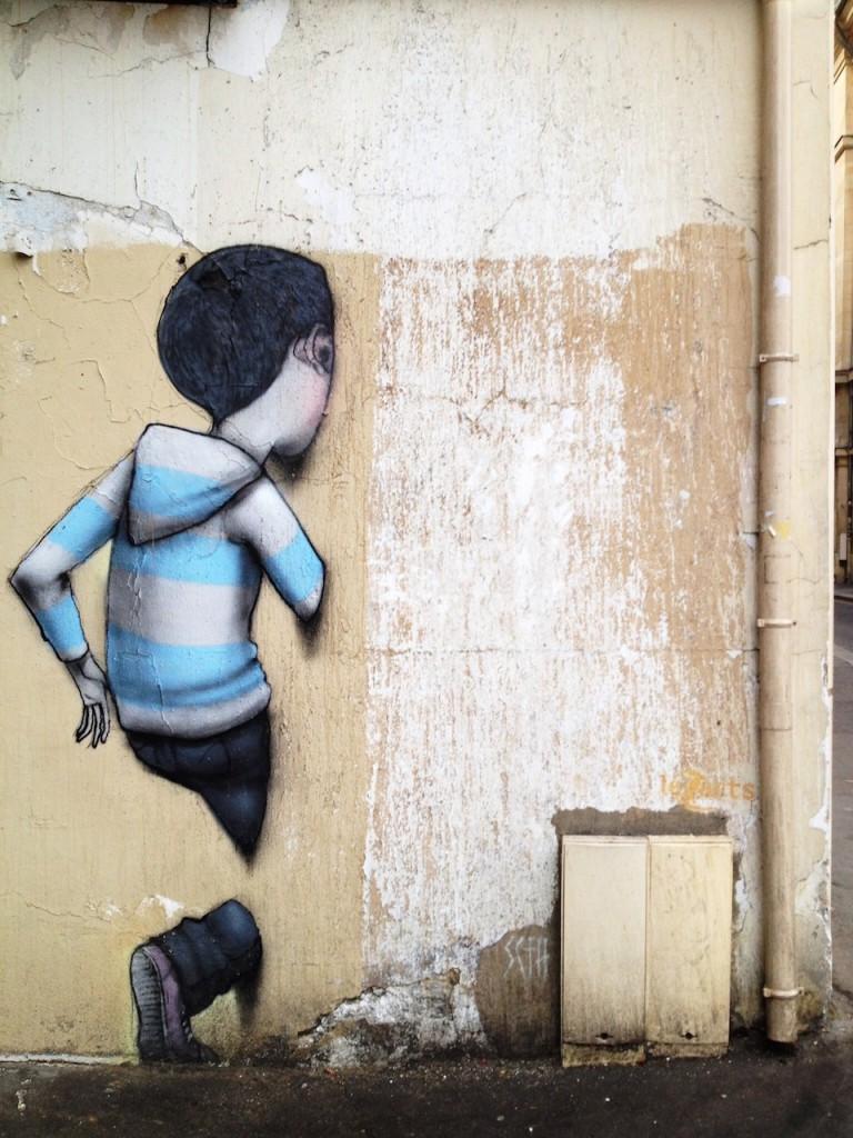 By Seth in Paris, France.  Thanks to Elize Bullock for the photo.