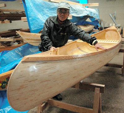 Chopstick canoe