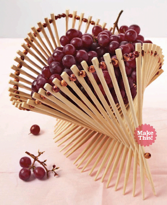 Chopstick fruit basket