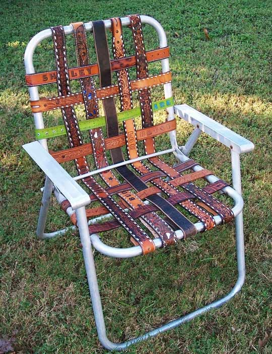 Belt chair