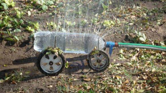 recycling sprinkler