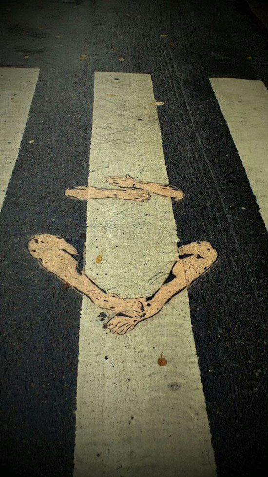 street art, arms