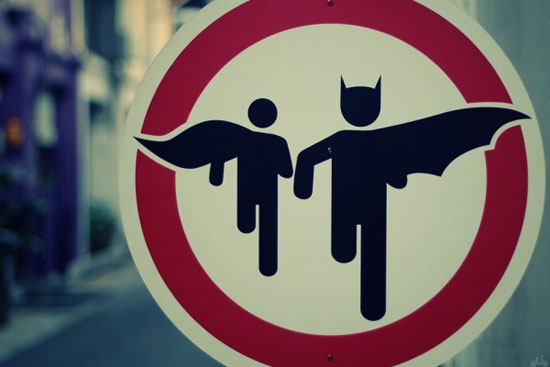 street art, batman, amazing places