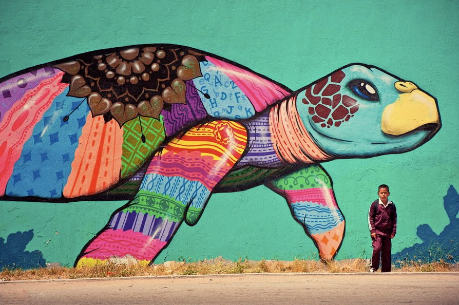 Street art 3 dusky 39 s wonders for Arte mural en mexico