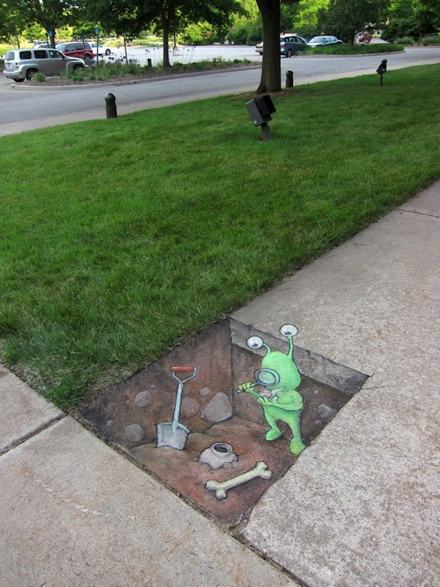 By David Zinn in Michigan, USA