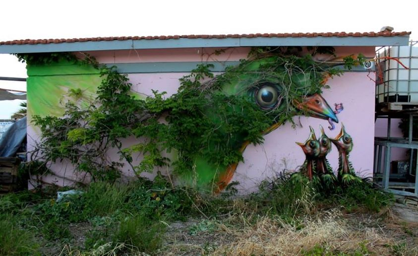 By Wild Drawing, Athens, Greece